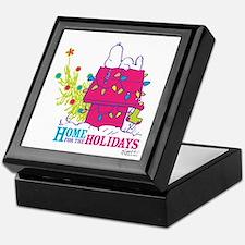 Snoopy: Home for the Holidays Keepsake Box