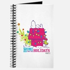 Snoopy: Home for the Holidays Journal