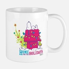 Snoopy: Home for the Holidays Mug