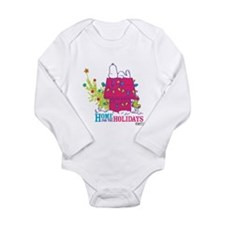 Snoopy: Home for the H Long Sleeve Infant Bodysuit