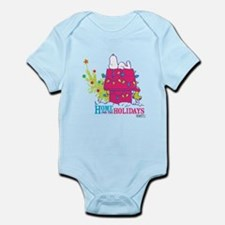 Snoopy: Home for the Holidays Infant Bodysuit
