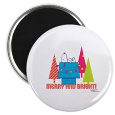 Snoopy: Merry and Bright Magnet