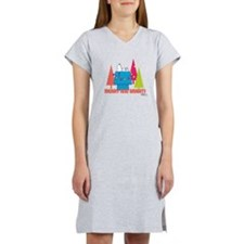 Snoopy: Merry and Bright Women's Nightshirt