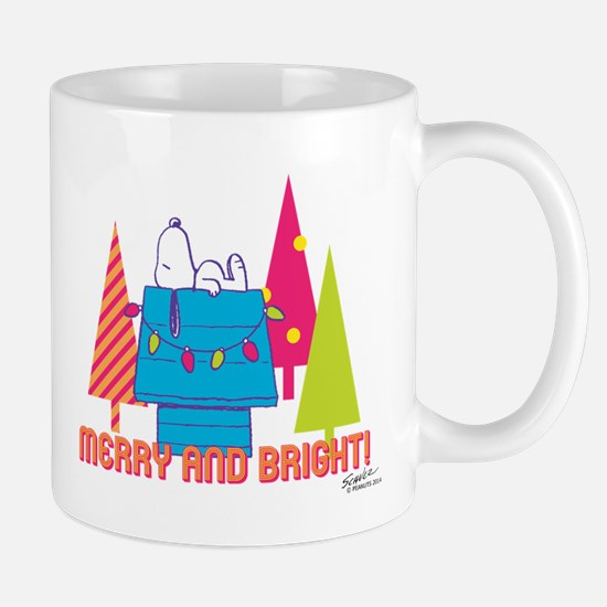 Snoopy: Merry and Bright Mug