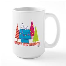 Snoopy: Merry and Bright Coffee Mug