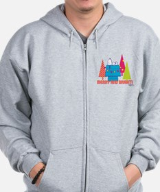 Snoopy: Merry and Bright Zip Hoodie