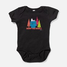 Snoopy: Merry and Bright Baby Bodysuit