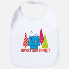 Snoopy: Merry and Bright Bib