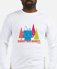 Snoopy: Merry and Bright Long Sleeve T-Shirt