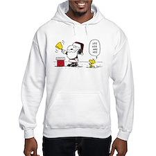Santa Snoopy and Woodstock Hoodie