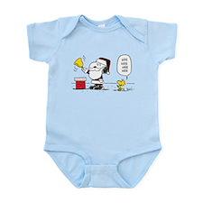 Santa Snoopy and Woodstock Infant Bodysuit