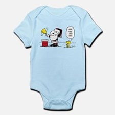 Santa Snoopy and Woodstock Infant Bodysuit
