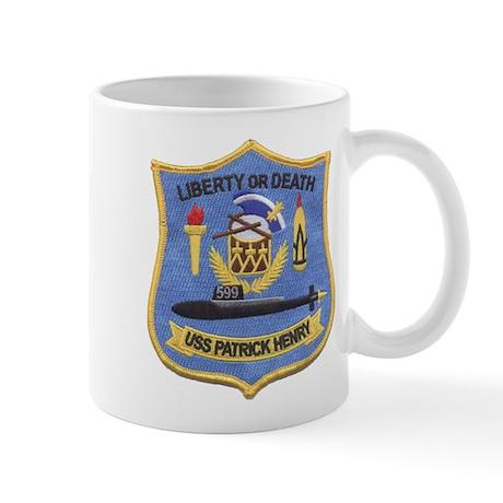USS PATRICK HENRY Mug