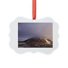 Franz Joseph Land. Mountain in cl Ornament