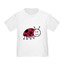 Child Drawn ladybug T