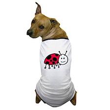 Child Drawn ladybug Dog T-Shirt