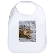 Cute Chipmunk lover Bib