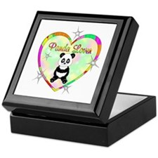 Panda Lover Keepsake Box
