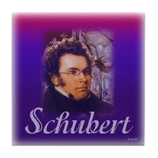Schubert Tile Coaster