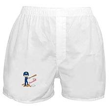 Baseball Boy Boxer Shorts