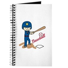 Baseball Boy Journal