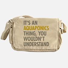 Its An Aquaponics Thing Messenger Bag