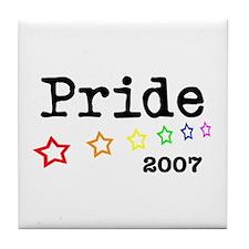 Pride 2007 Tile Coaster