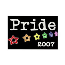 Pride 2007 Rectangle Magnet
