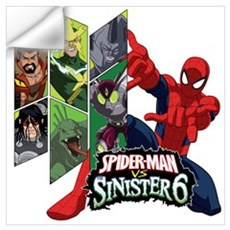 Sinister Six Wall Art Wall Decal