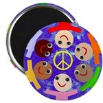 "World Peace 2.25"" Magnet (10 pack)"