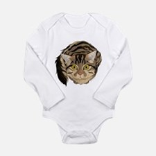 Maine Coon Cat Long Sleeve Infant Body Suit
