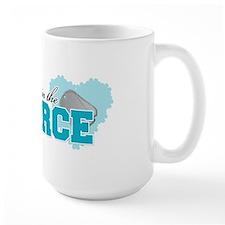 My sweetheart is in the Air F Mug
