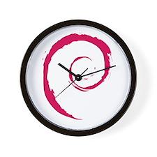 Debian Wall Clock