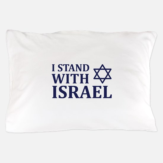 I Stand with Israel Pillow Case