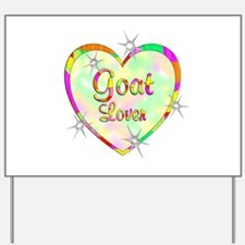 Goat Lover Yard Sign