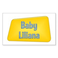 Baby Liliana Rectangle Decal