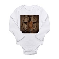 cowboy boots texas star Body Suit