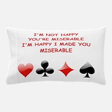 card player Pillow Case