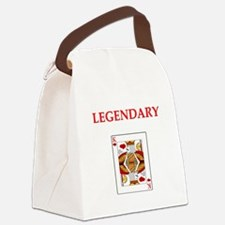 card player Canvas Lunch Bag