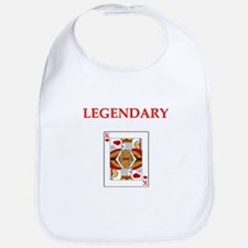 card player Bib