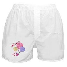 Cute Lollipop Boxer Shorts