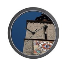 Gothic historic bell & clock tower with Wall Clock