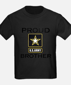 Funny Military brother T