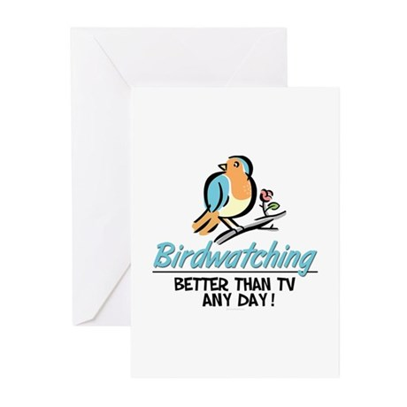 Birdwatching Greeting Cards (Pk of 10)