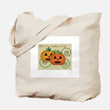 Fall Is For Pumpkin Carving! Tote Bag