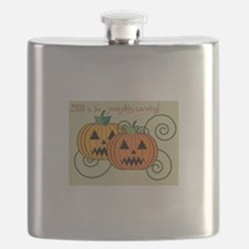 Fall Is For Pumpkin Carving! Flask