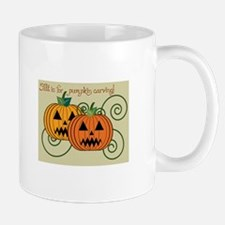 Fall Is For Pumpkin Carving! Mugs