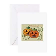 Professional Pumpkin Carver Greeting Cards