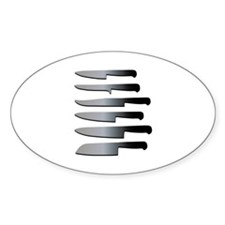 Kitchen Knives Decal