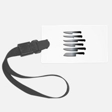 Kitchen Knives Luggage Tag